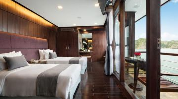 Family Premium Suite Cabin with balcony