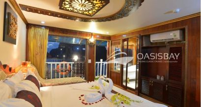 Oasis Bay Private balcony - 3rd floor