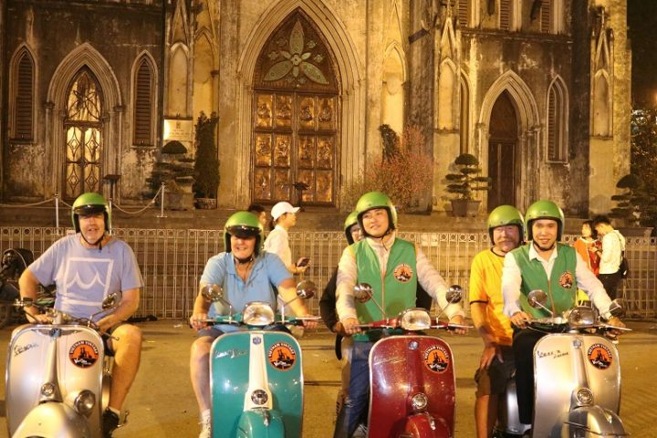 Hanoi After Dark Food Tour By Vespa
