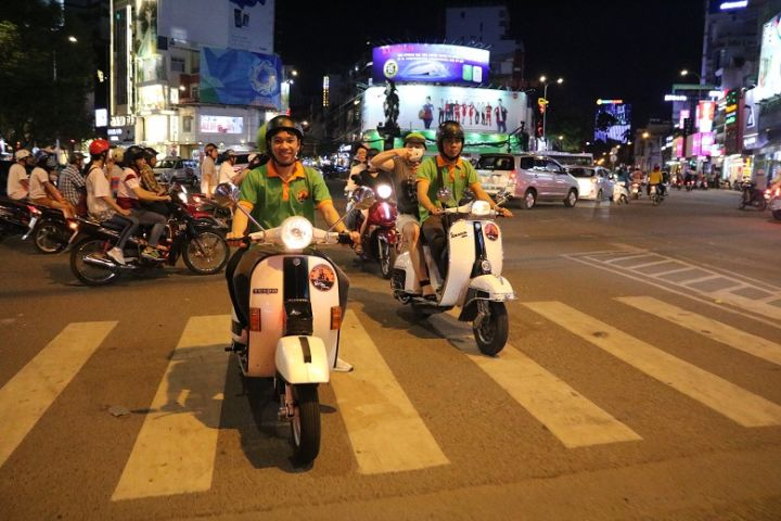 Saigon After Dark Food Tour By Vespa